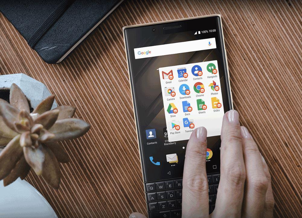 KEY2 LE от BlackBerry — колоритный QWERTY-смартфон | IFA 2018