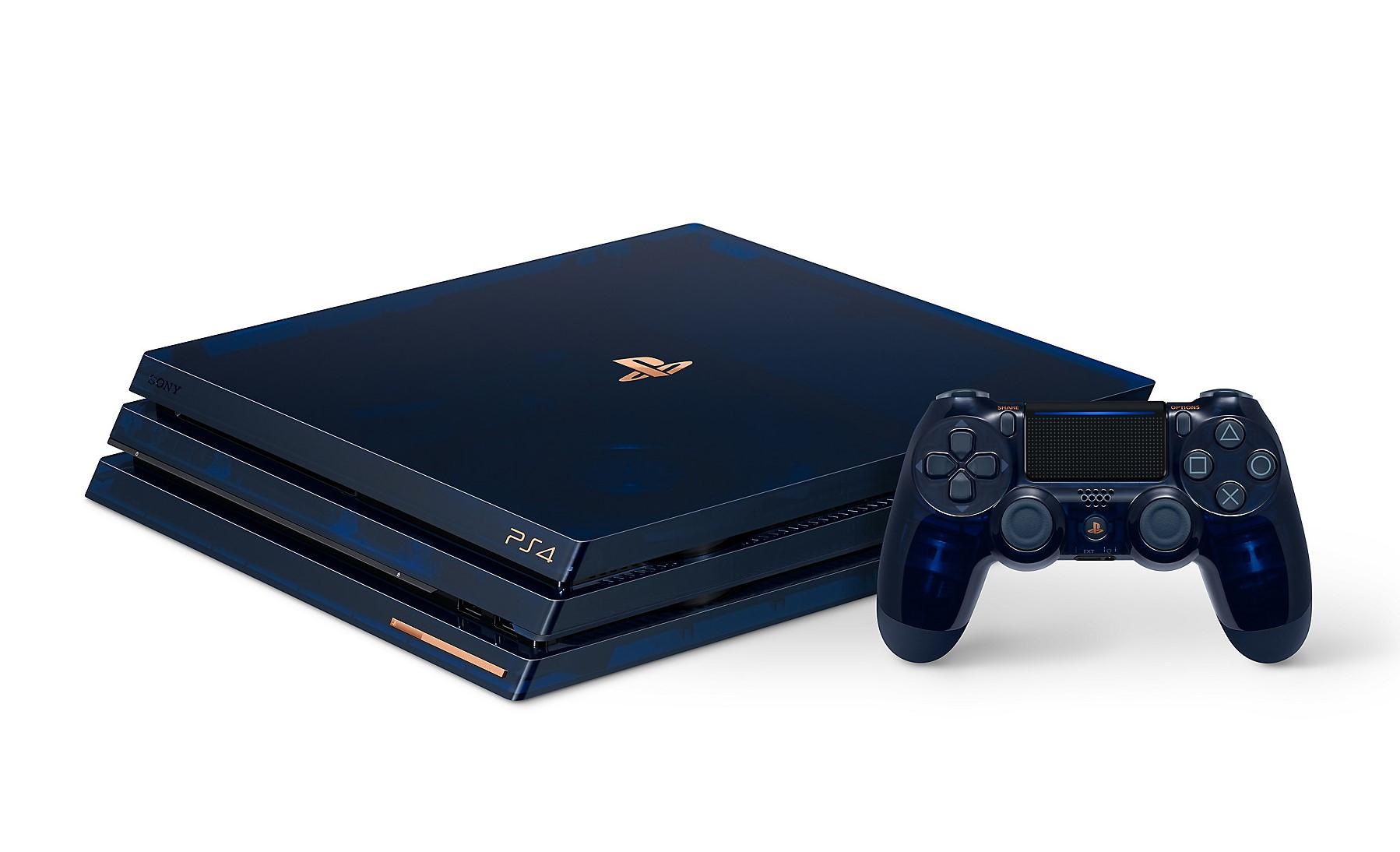 PlayStation 4 Pro LE — полупрозрачная приставка