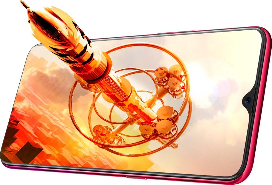 F9 Pro от Oppo — ещё один смартфон с «декольте»