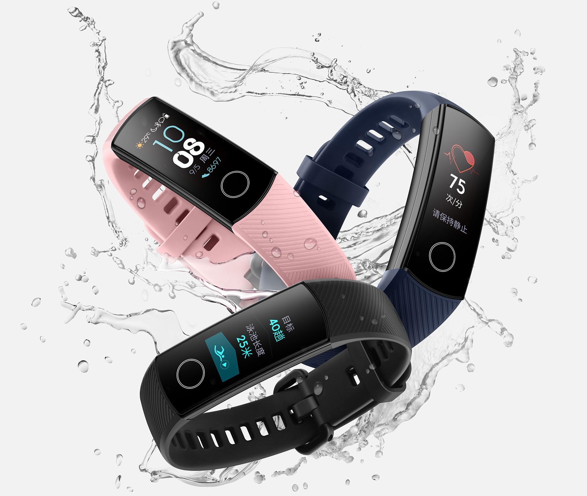 Honor Band 4 от Huawei — новый трекер с NFC