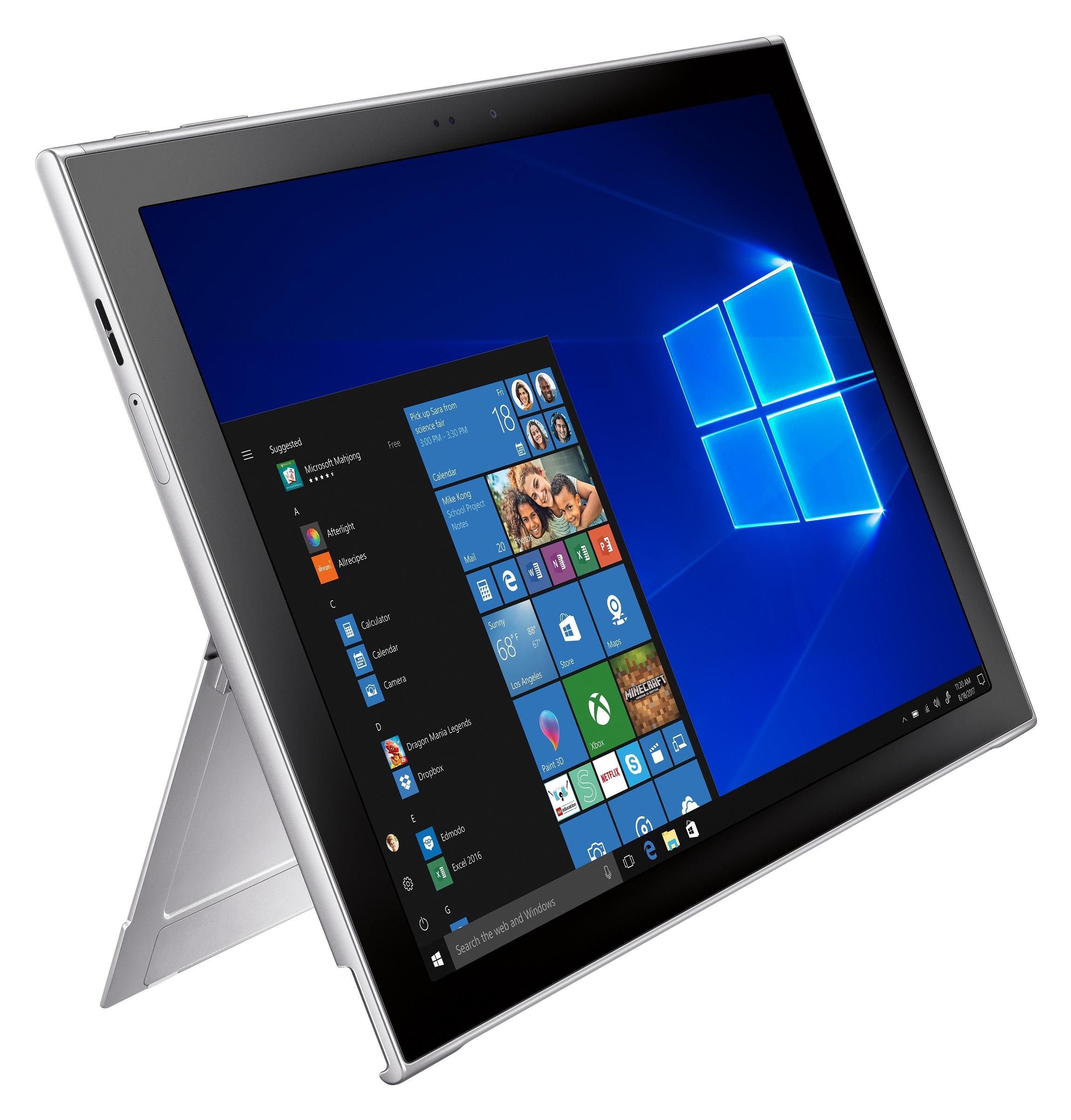 Galaxy Book 2 — «гибрид» с Windows 10