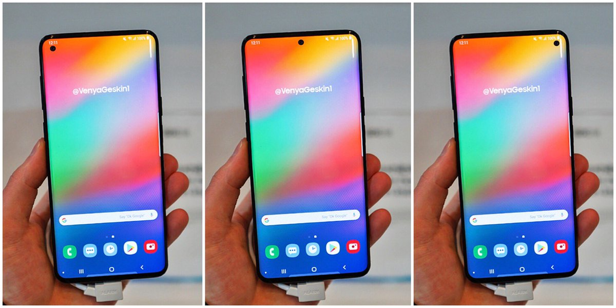 Подробности об упрощенной версии Galaxy S10