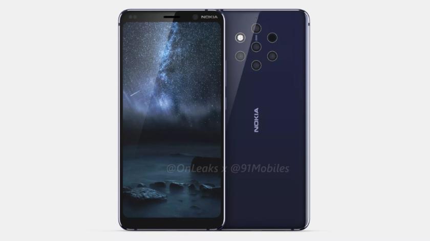 Nokia 9 с «олимпийскими» камерами в концепт-видео