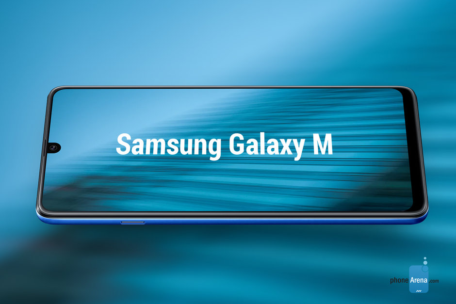 Смартфон Samsung с «каплей» на изображениях