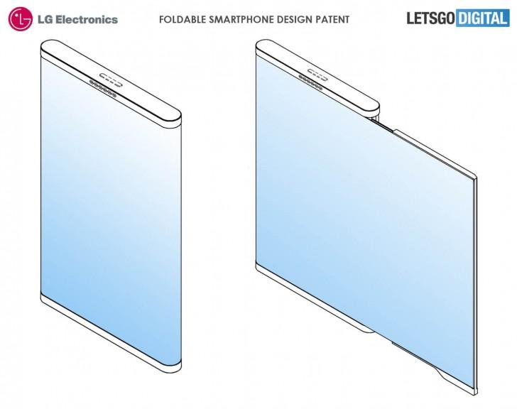 Складной смартфон LG может быть таким