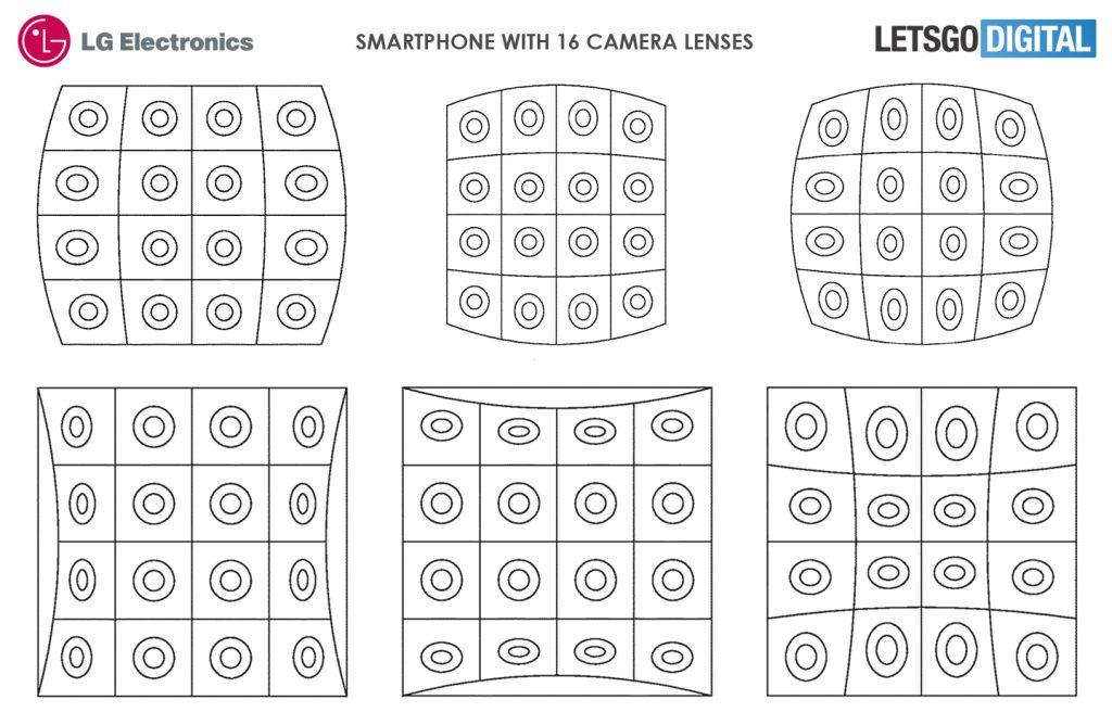 LG придумала смартфон с 16 объективами