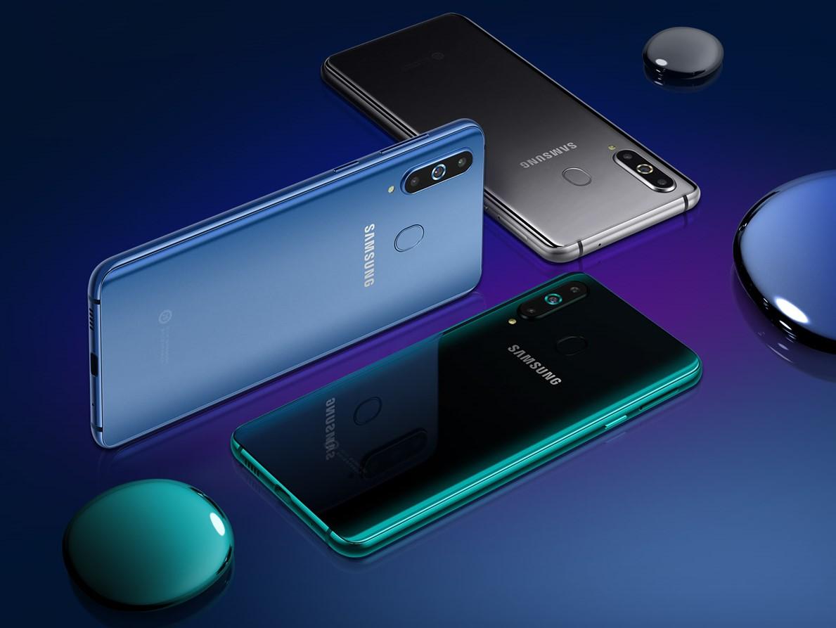 Galaxy A8s — первый смартфон Samsung с «дырочкой»