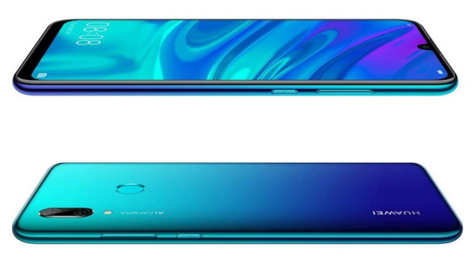 P Smart (2019) от Huawei — фаблет с «каплей» и NFC