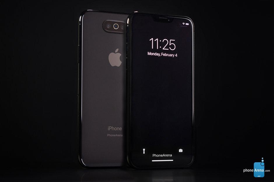 iPhone 11 с темной темой на изображениях