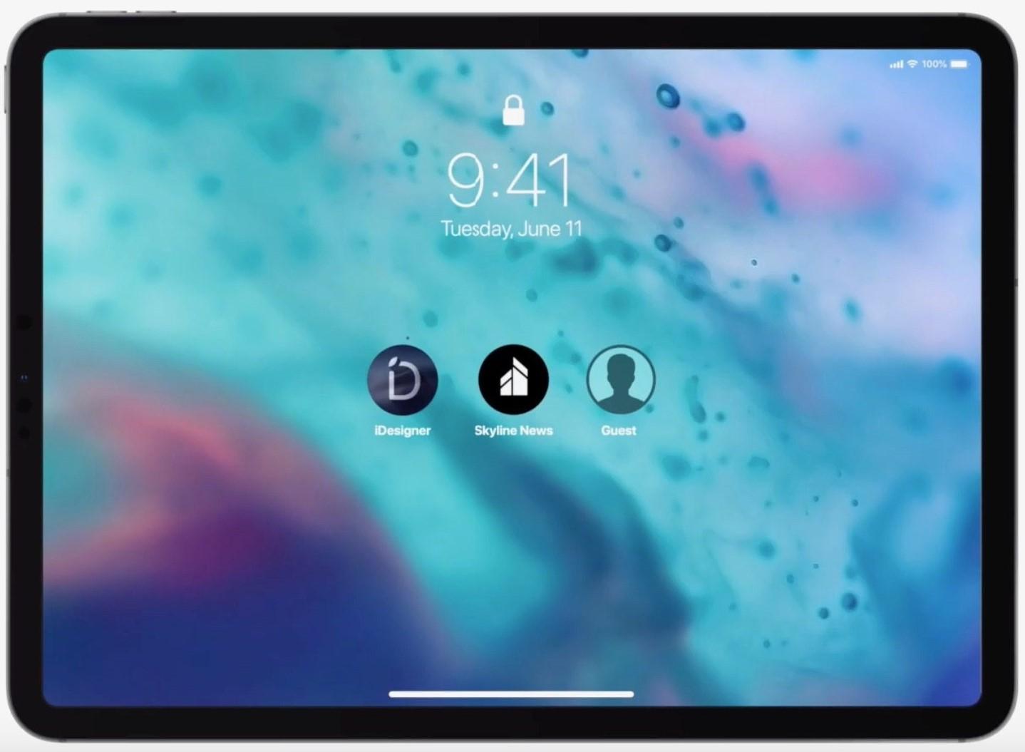 iOS 13 в концептуальном ролике