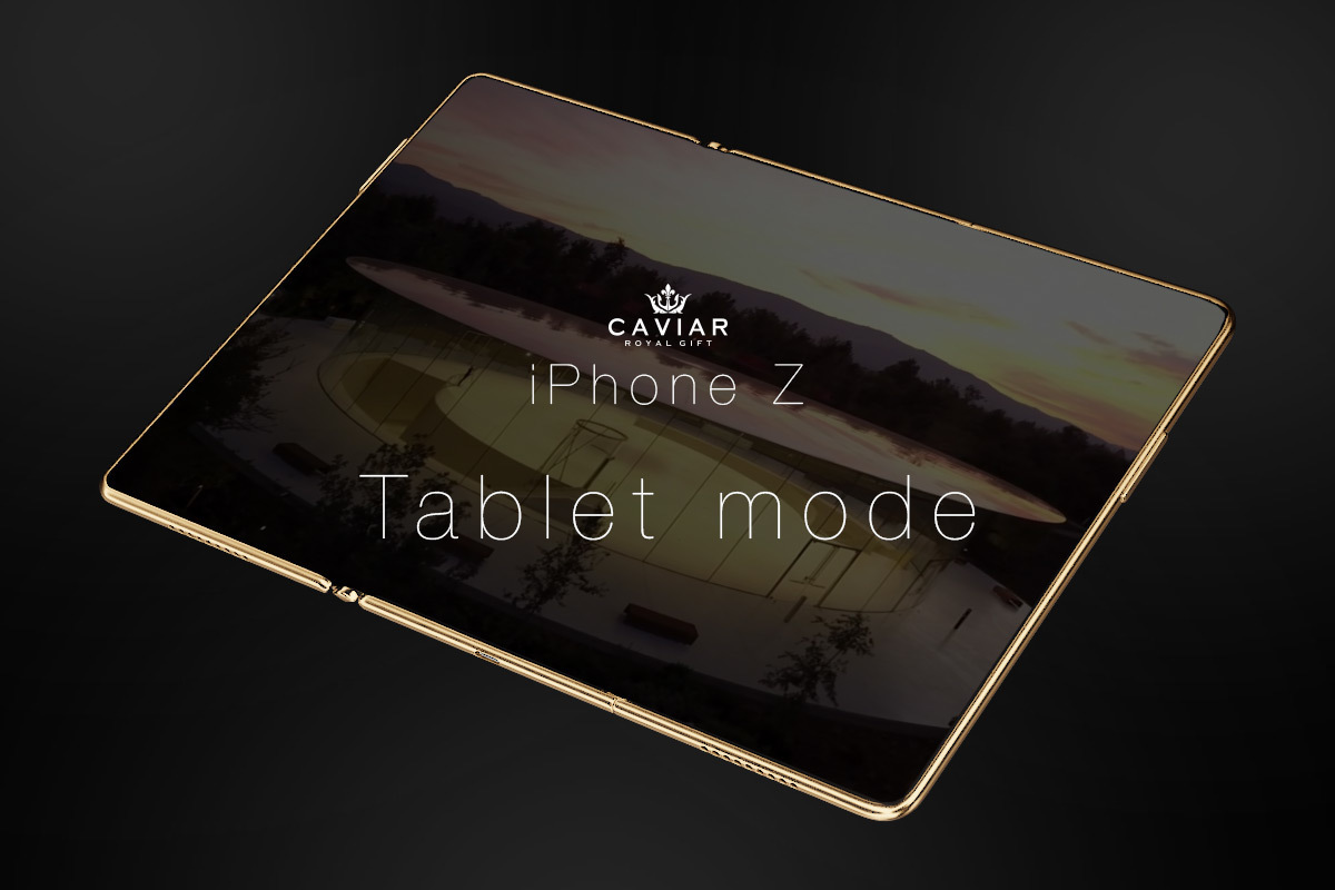 Складному смартфону Apple посвящен свежий концепт