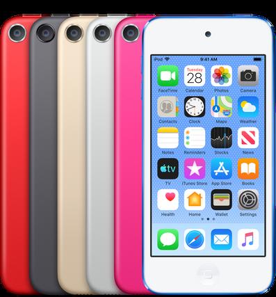 Apple обновила плеер iPod Touch