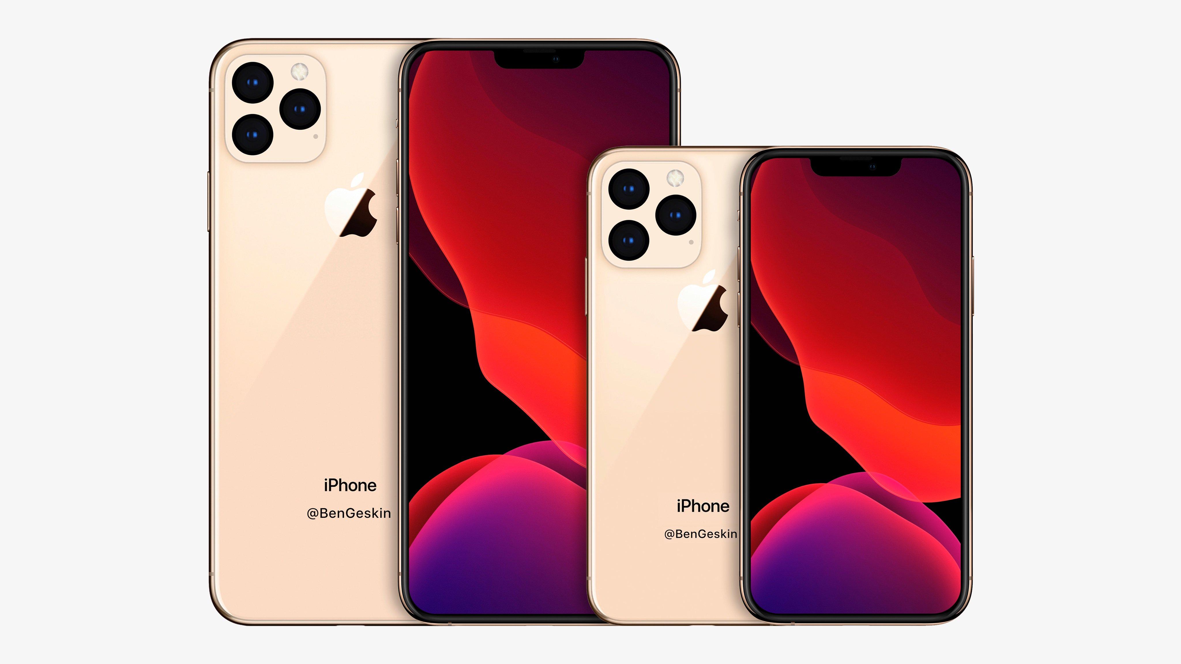 Самый крупный и самый компактный iPhone из 2020 года