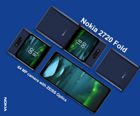 Nokia готовит гнущийся смартфон и телевизор!