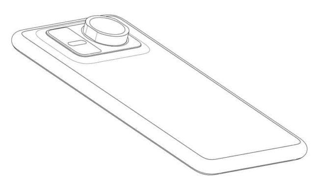 HUAWEI запатентовал смартфон с отдельным зум-объективом