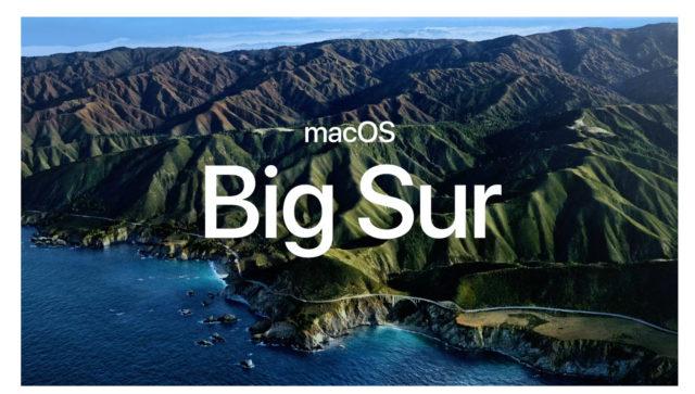 MacOS Big Sur: Блогеры воссоздали обои новой системы