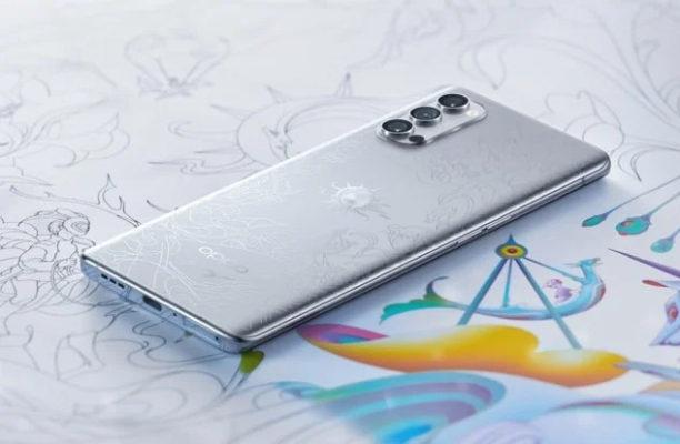 OPPO Reno4 Pro Artist Limited Edition: Ну очень красивый смартфон!