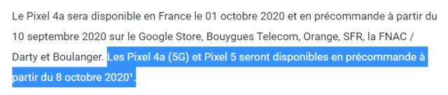 Pixel 5 анонсируют 8 октября