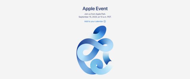 Apple Event пройдёт 15 сентября