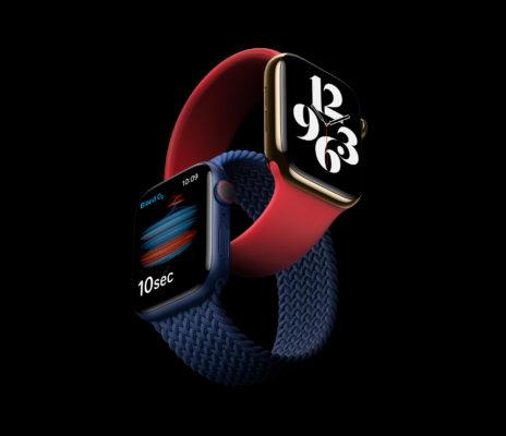 Apple Watch Series 6: Мощно, свежо, в синем и PRODUCT(RED)