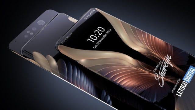Samsung запатентовал слайдер с двухсторонним дисплеем