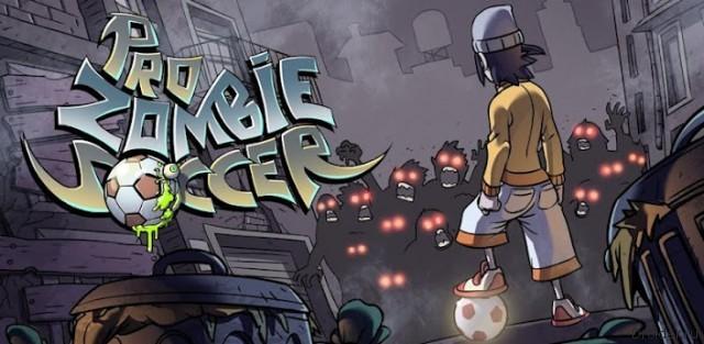 Pro Zombie Soccer - с мячом на зомби
