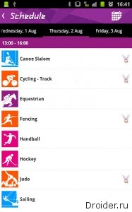 Results London 2012