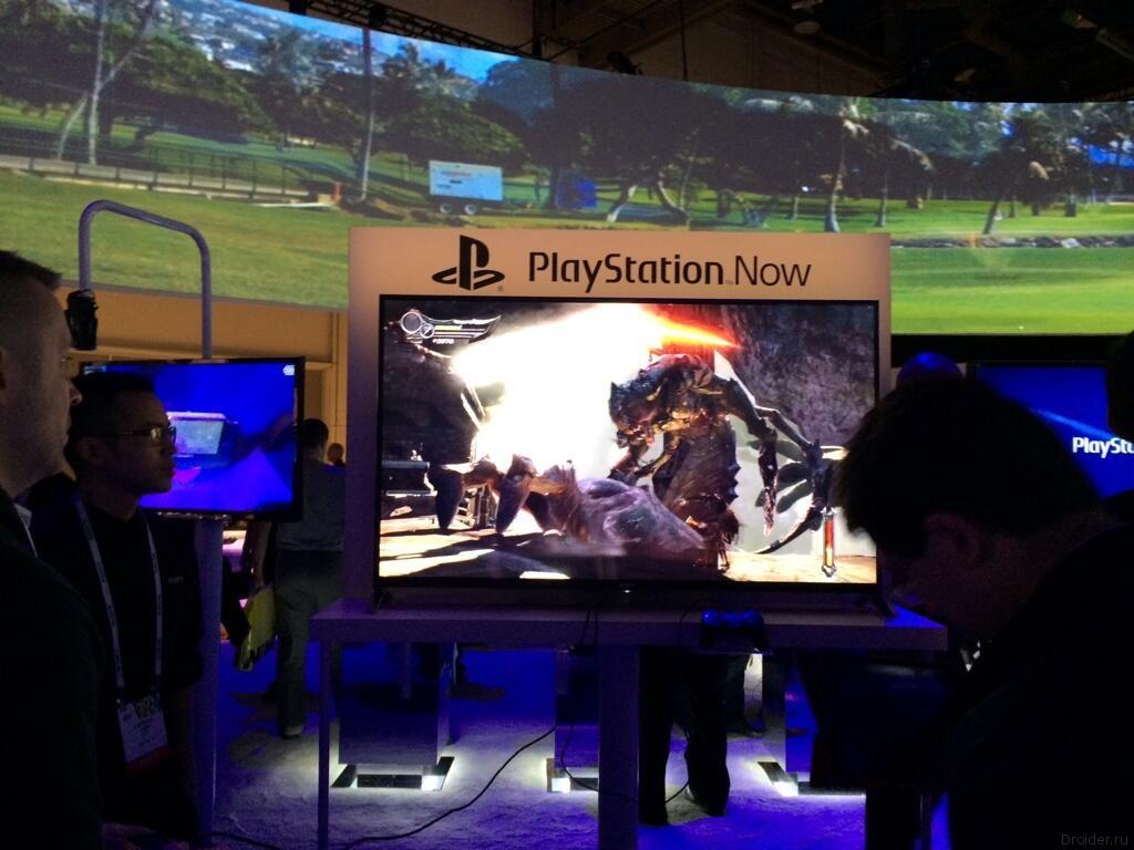 PlayStation Now на CES 2014