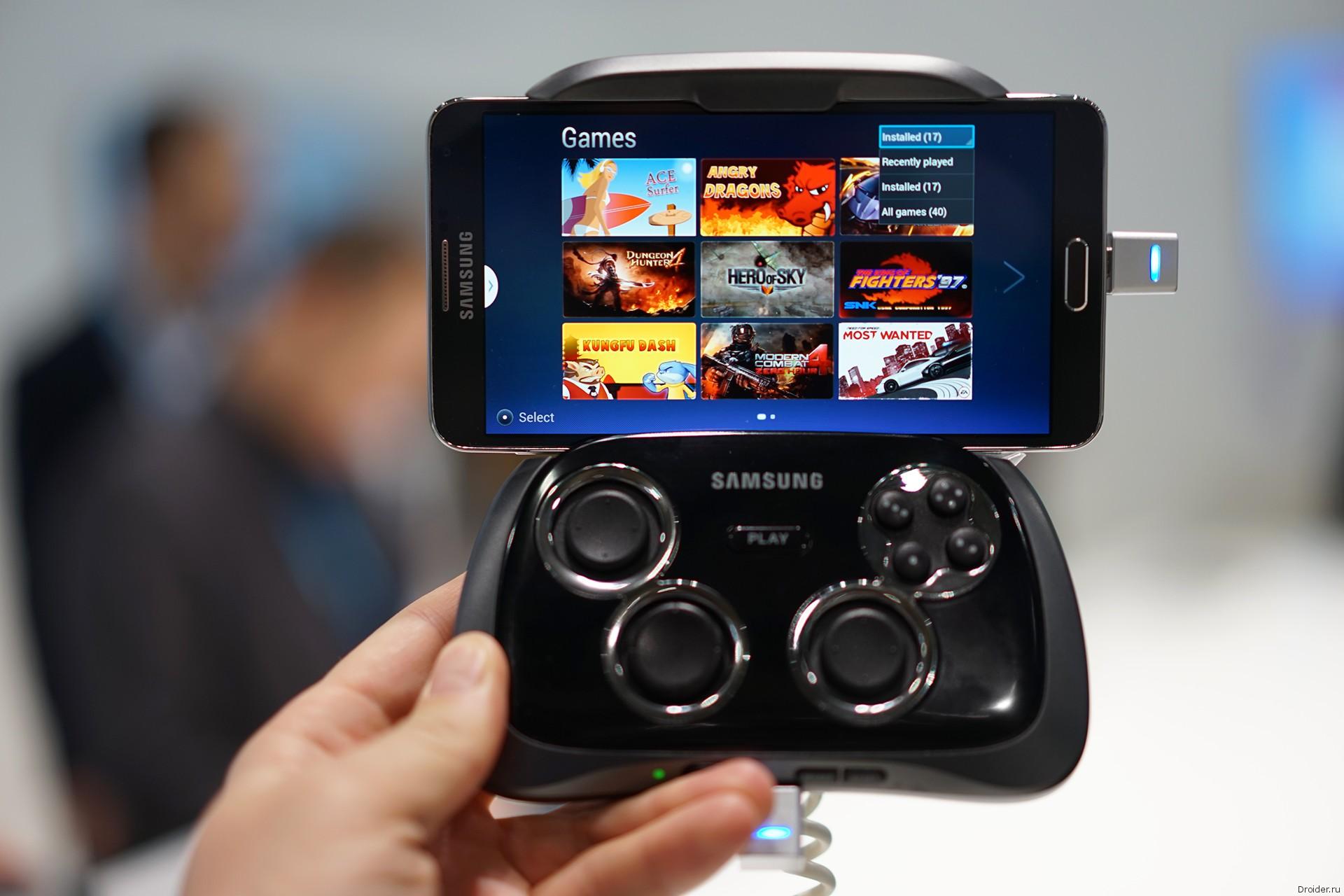 Samsung Smartpnone GamePad
