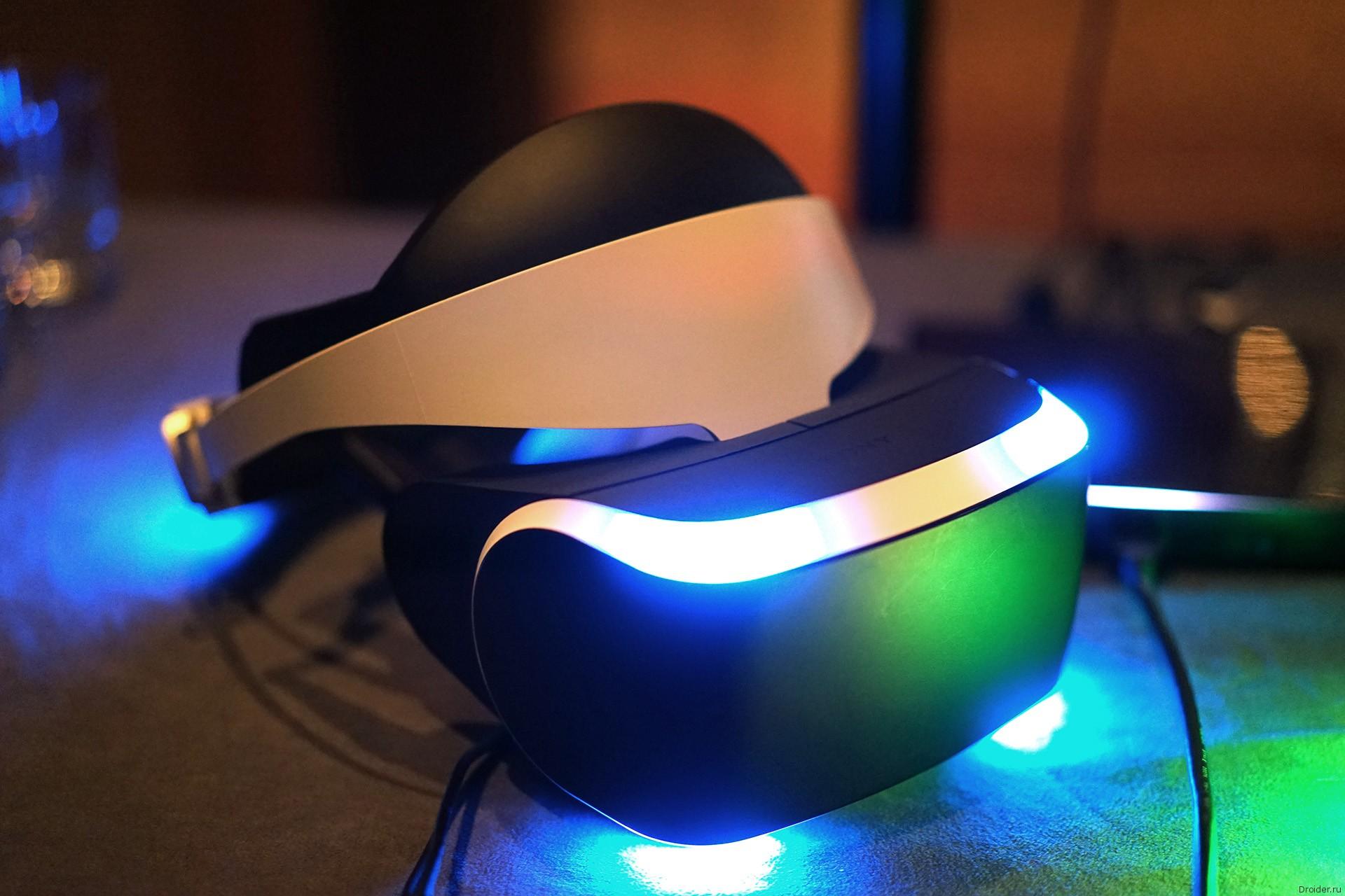 Project Morpheus от Sony