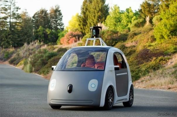 Google создала компактный автомобиль, в котором нет ни руля, ни педалей