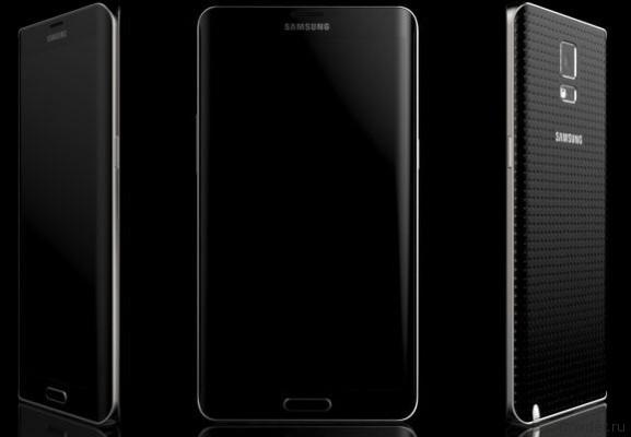 концепт Galaxy Note 4