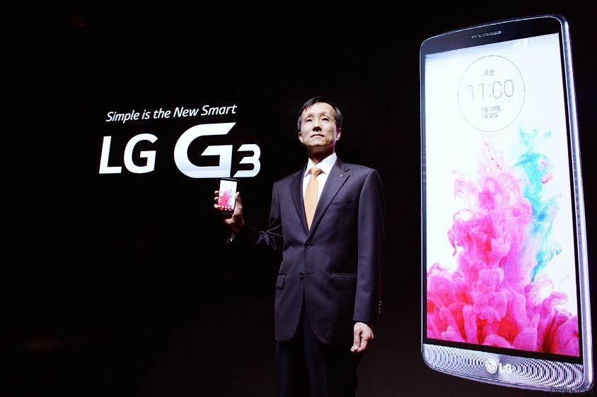 Презентация флагмана G3 от LG