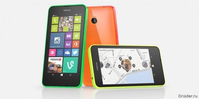 Смартфон Lumia 635 от Nokia