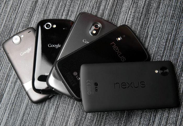 Смартфоны из линейки Nexus от Google