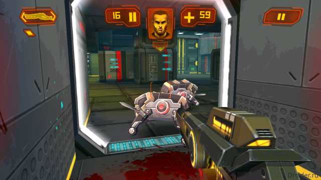 Скрин из игры Neon Shadow