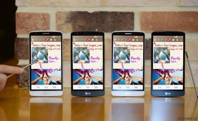 Смартфон G3 Stylus от LG