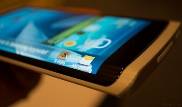 Смартфон Galaxy Note 4 от Samsung, концепт которого попал в руки журналистов The Verge