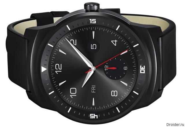 """""""Умные"""" часы G Watch R от LG"""