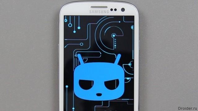 CyanogenMod в смартфоне Samsung