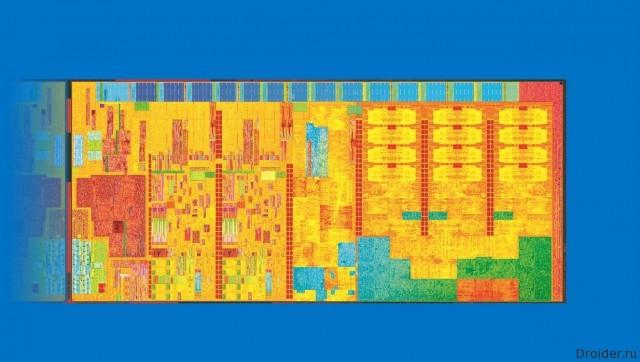 Графическое изображение нового продукта Intel