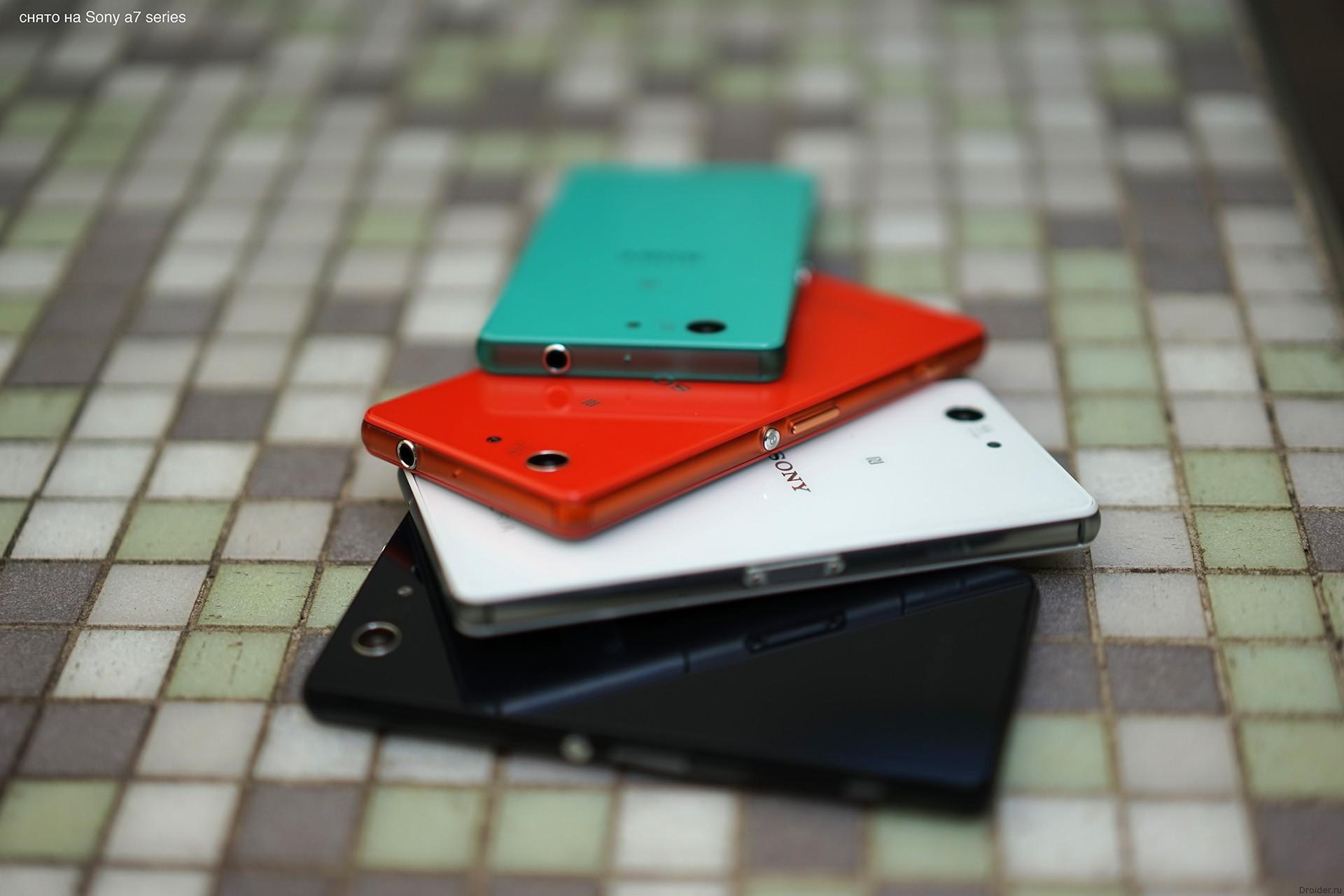 Смартфон Xperia Z3 Compact от Sony