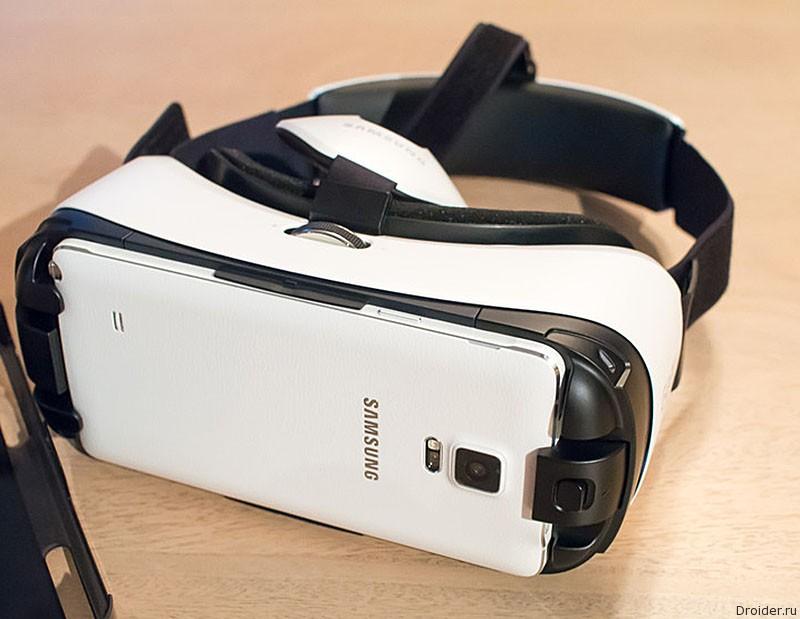 Очки виртуальной реальности Gear VR от Samsung