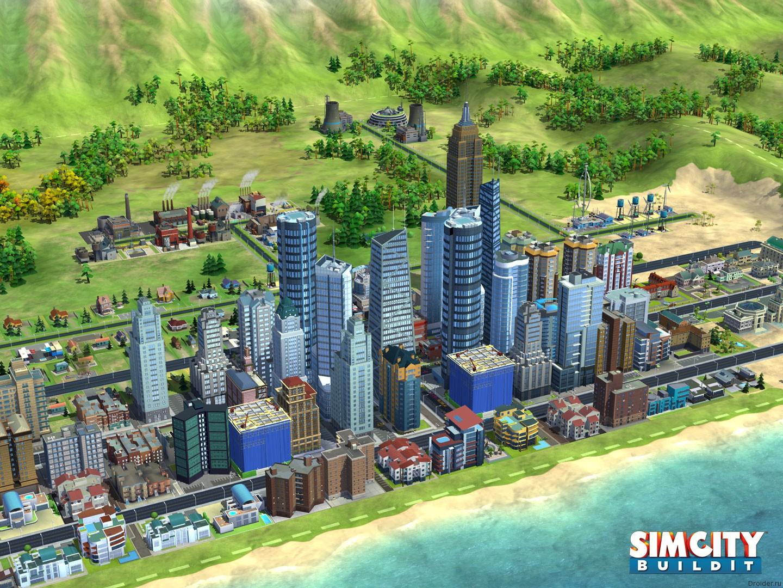 Изображение мобильной игры SimCity BuildIt для мобильных устройств