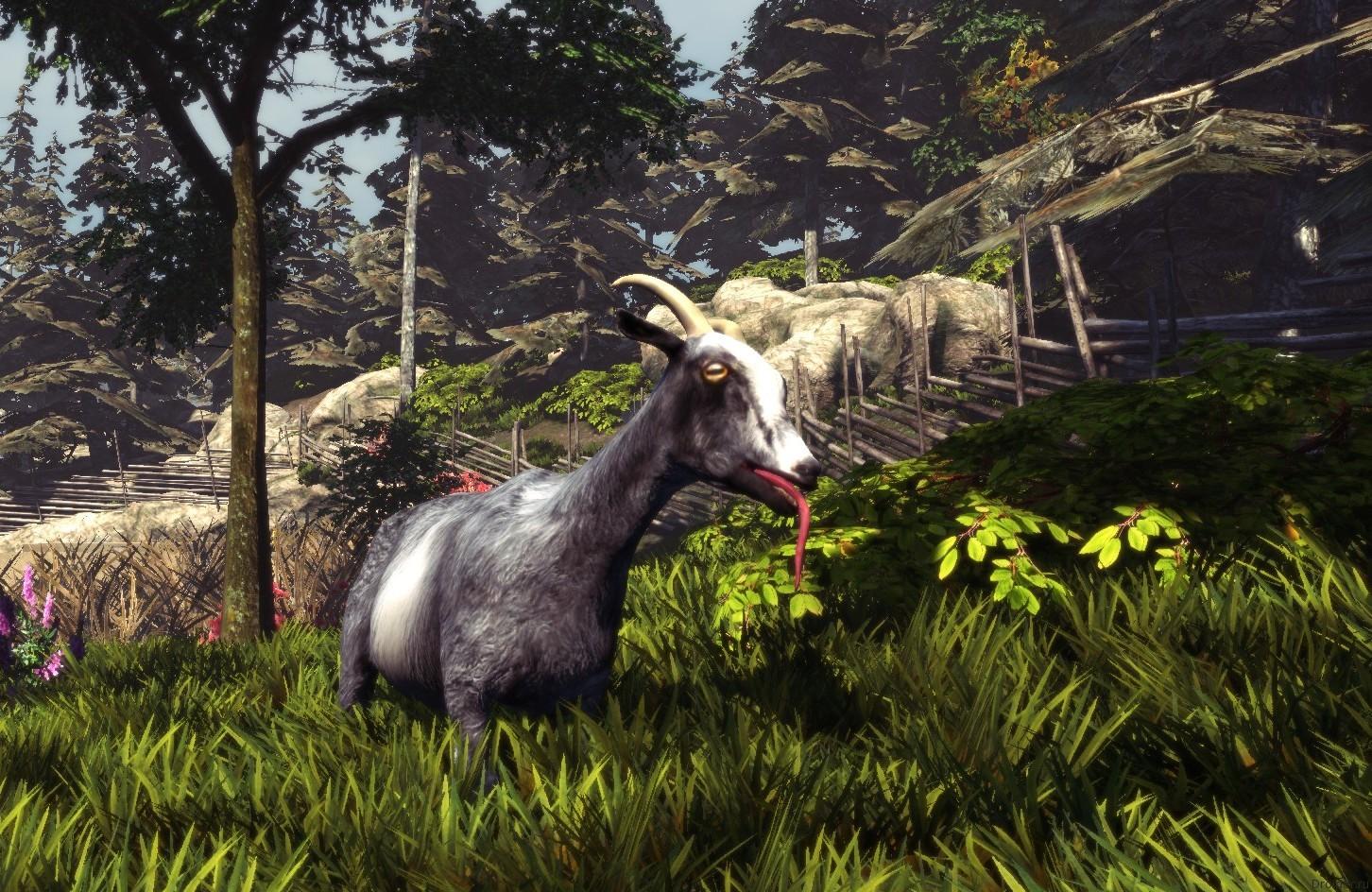 Скрин игры Goat Simulator