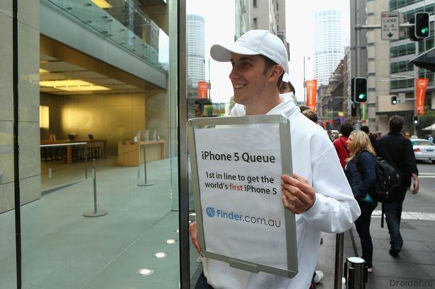 Тодд Фут и iPhone 5s. 2012 год