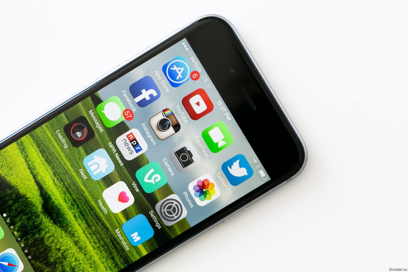 Смартфон iPhone 6 от Apple на операционной системе iOS 8