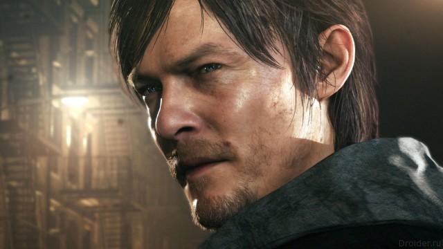 Актер Норман Ридус в роли писателя из игры Silent Hill