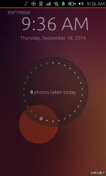 Интерфейс Ubuntu Touch на смартфоне MX4 Pro