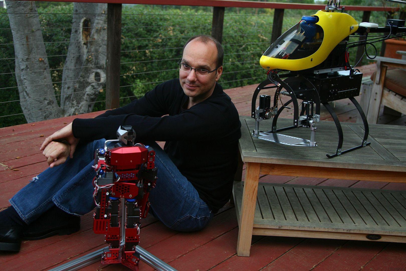 Энди Рубин - создатель платформы Android